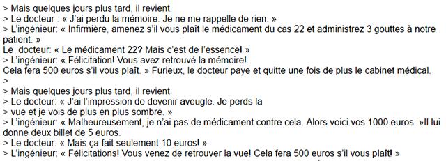 blague 500 euros