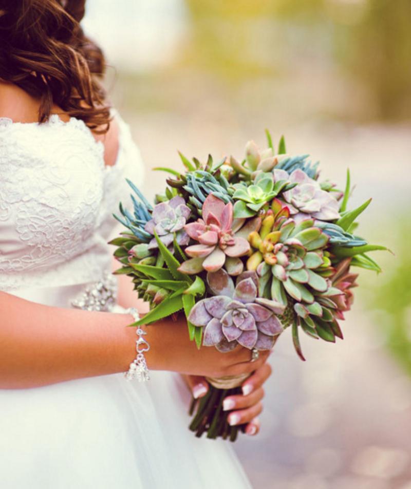 Un bouquet de mari e original - Bouquet de mariee original ...