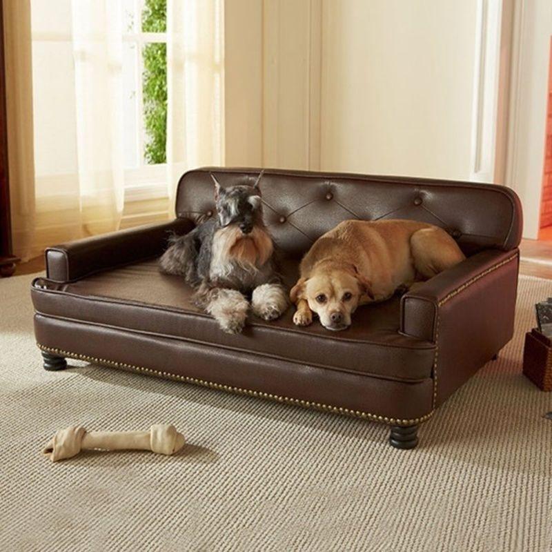 un canap pour chien. Black Bedroom Furniture Sets. Home Design Ideas
