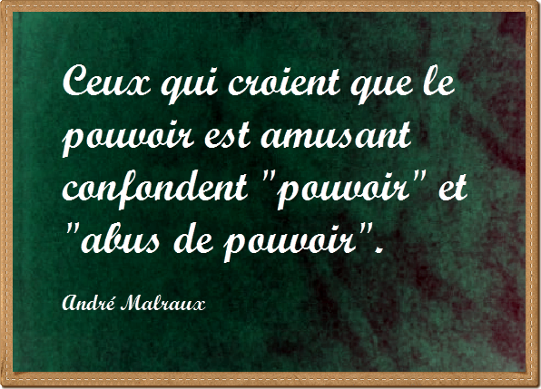 citation-p​ouvoir