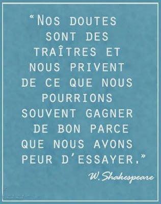 Citation De W Shakespeare