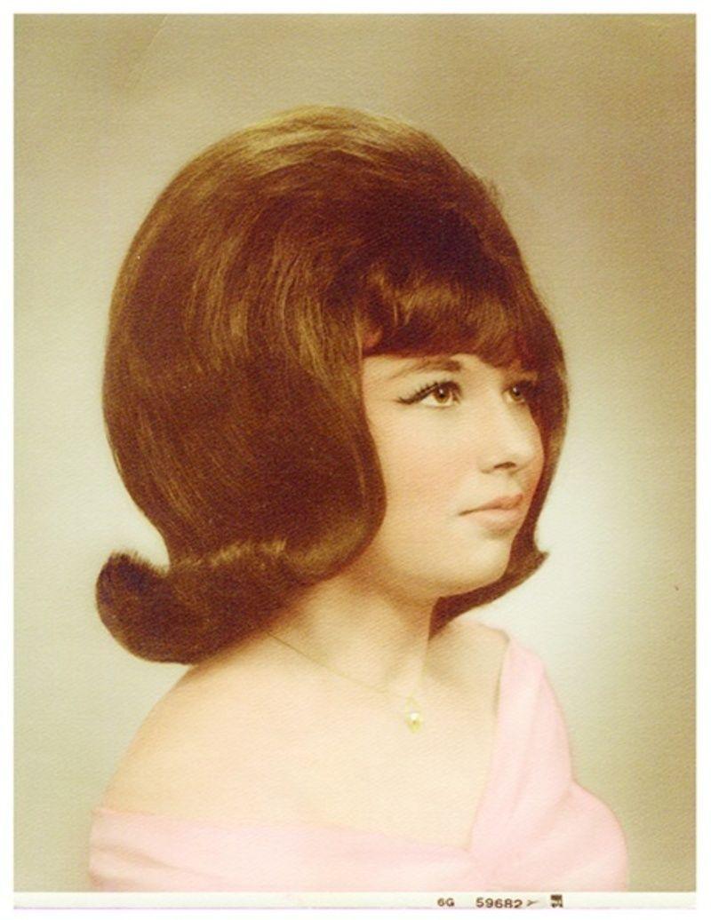 Les coiffures tr s en volume des ann es 1960 - Coiffure annee 60 ...
