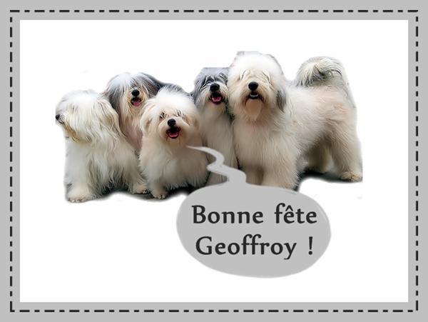 Bonne f te geoffroy - Geoffrey prenom ...