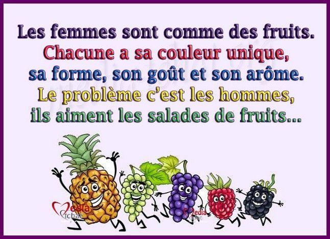 blague drole fruit