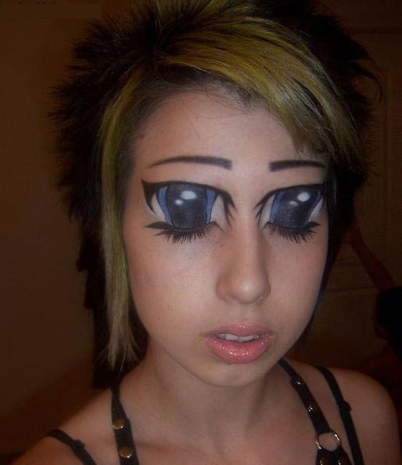 maquillage yeux ouverts
