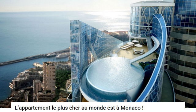 L 39 appartement le plus cher du monde - Appartement le plus cher monaco ...