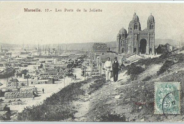 """Carte postale ancienne (MARSEILLE)."""