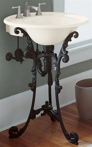un lavabo joli et original. Black Bedroom Furniture Sets. Home Design Ideas