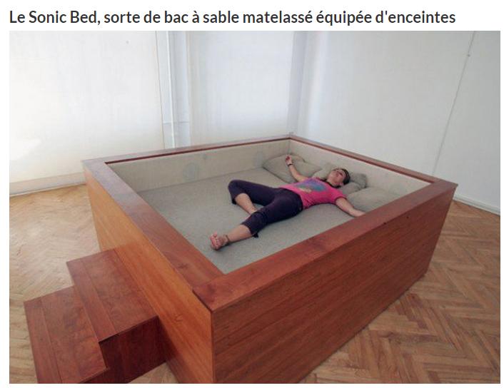 un lit original. Black Bedroom Furniture Sets. Home Design Ideas