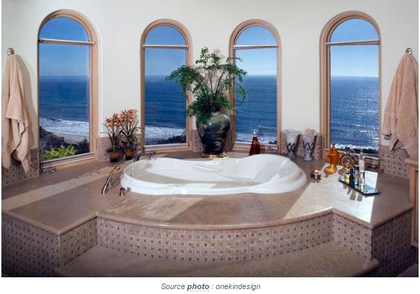 Une bien jolie salle de bain for Jolie salle de bain