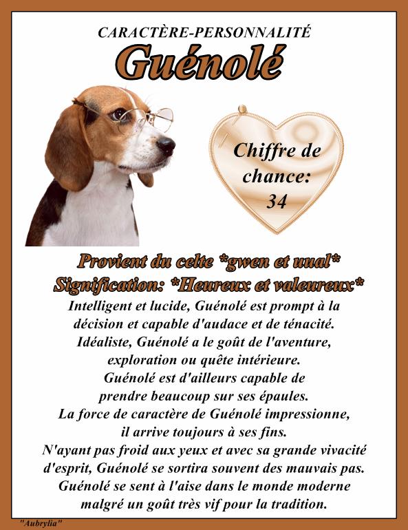 """"""" Fête du Prénom du Jour """" et Signification """" - Page 2 Stguenole"""