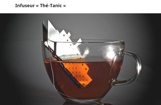 Teatanic (infuseur à thé) Thetitanic