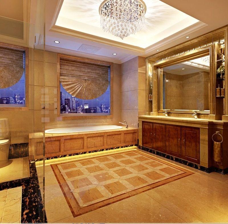 Une belle et luxueuse salle de bain - Une belle salle de bain ...