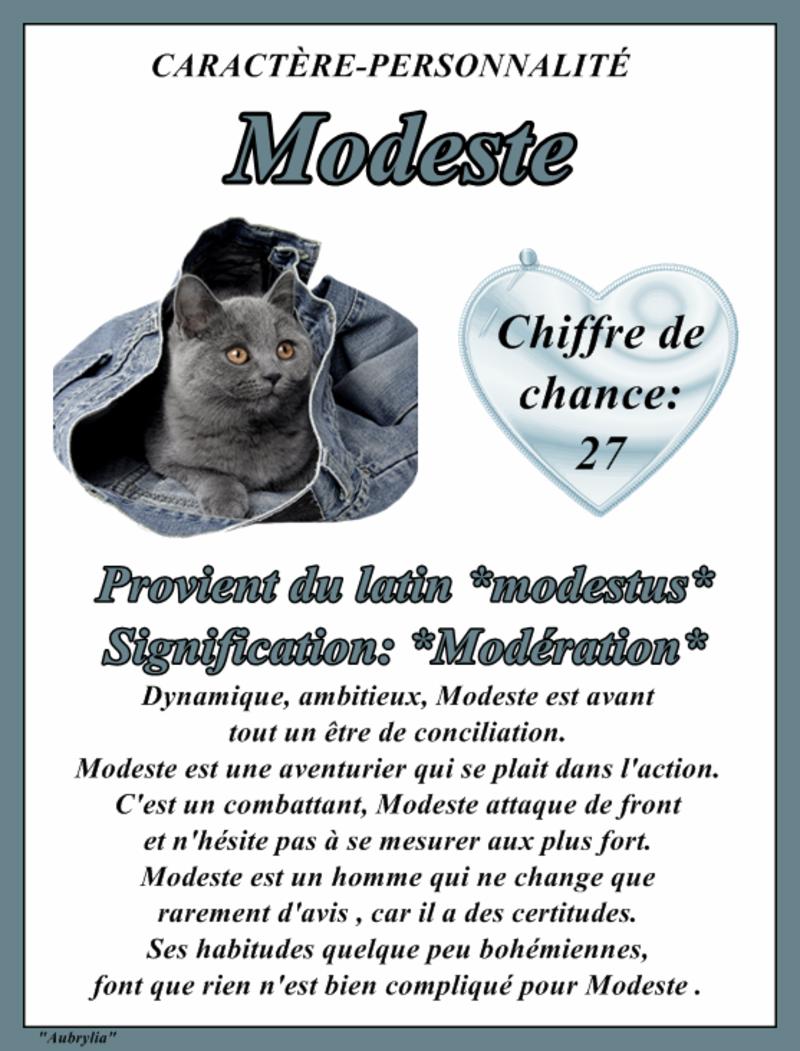 """"""" Prénom à Féter et Ephémérides du Jour """" - Page 9 Stmodeste"""
